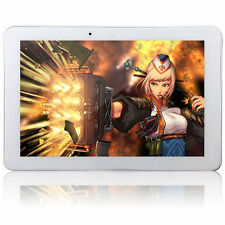 "10.1"" Android 4.4 3G Phone Tablet Quad Core GPS WiFi 2G 16G 2 sim card slot"