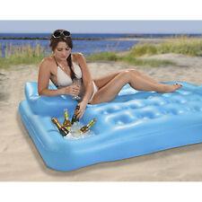 Luftmatratze Vis-a-Vis Sitz Pool Poolliege Schwimmliege Badeinsel
