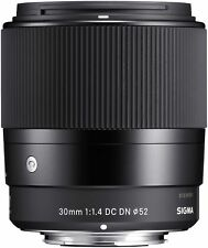 Objektiv Sigma DC 1,4/30 DN Sony E-Mount Contemporary