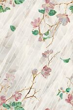 Wild Roses Stained Glass Privacy Static Cling Window Film New 24x36 Rose Decor