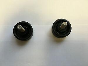 Plastic Handwheel - 36mm Diameter Round Handwheel M8x20mm Male Stainless Insert