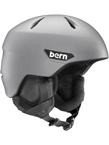 NEW Bern Mens Weston Hemlet Helmet Grey