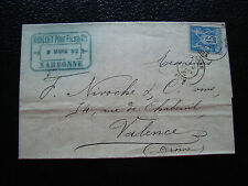 FRANCE - lettre 1882 (cy34) french
