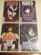KISS - 4 ISSUES OF #1 - VARIANT COVERS - DEMON, STAR CHILD, ACE - FREE SHIPPING!