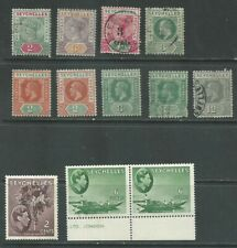 Seychelles 1890-1938 from an old collection mint/used (2001)