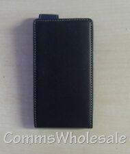 Works with Nokia Luxury Alpha Leather Flip Case For Nokia Lumia 900