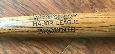 WRIGHT & DITSON MAJOR LEAGUE BROWNIE ANTIQUE BASEBALL BAT  NICE