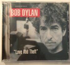 Bob Dylan Love and Theft CD 2001 Sony Music Entertainment NEW Sealed!
