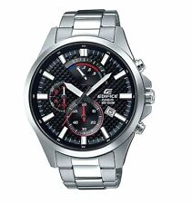 Casio EFV530D-1A Edifice Stainless Steel Chronograph Mens Watch 10 ATM RRP $199