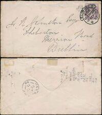Go QV 1890 e.low Hill d scroll annuler Liverpool à l'Irlande + H + K paquet
