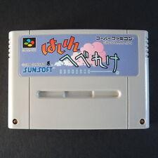 HASHIRE HEBEREKE Nintendo Super Famicom NTSC JAPAN・❀・RACING SPORTS SFC はしれへべれけ