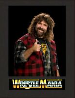 Mick Foley Mankind Wrestling Legend Display Mounted Photograph A4 Retro Gift