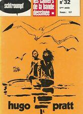 Pratt - Cahiers de la BD - Glénat 1977-Revue Corto Maltese N°11-Casterman 1986