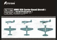 Flyhawk 1/700 FH1164 WWII USN Carrier-Based Aircraft (Set.1)