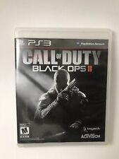 Call Of Duty Black Ops 2 II ( Sony Playstation 3, 2012)