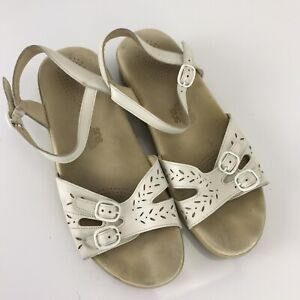 EUC SAS DUO WHITE Sandals 9W