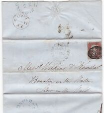 # 1850 FEE FARM RENT LETTER ED REEVES LONDON =8= IN DIAMOND TO STOW ON THE WOLD