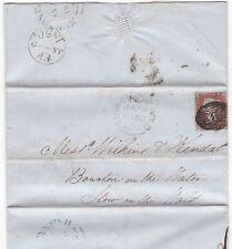 Nº 1850 frais de fermage Lettre Ed Reeves Londres = 8 = en Diamant à Stow on the Wold