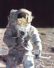 Pete And Me Apollo 12 Pete Conrad [CMDR] ARTIST PROOF PRINT Signed Alan Bean LMP