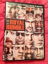 WWE ROYAL RUMBLE 2011 DVD ROAD TO WRESTLEMANIA BOSTON MIZ ORTON EDGE ZIGGLER