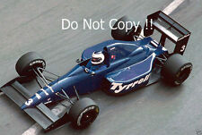 Jonathan Palmer Tyrell 018 Grand Prix de Monaco 1989 photographie
