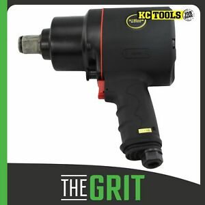 """KC Tools 1"""" Dr Air Impact Wrench - 1400 Ft-lb 5500rpm"""