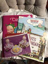 Kewpie Lot Paper Dolls, Greeting Cards, Calendars