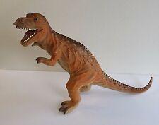 T-Rex Tyrannosaurus 13 inches Tall Dinosaur Rubber Toy Major 2005 Toy Room Decor