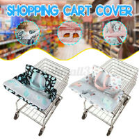 New Baby Kid Child Shopping Trolley Cart Seat Pad Child High Chair Cover Protect