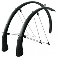 "SKS Bluemels MUDGUARD SET 28 "" Matt Black Width 35mm, 45mm or 53mm"