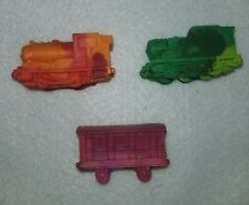 Thomas the Train Crayon Birthday Party Favors Set of 12 From Lego Molds