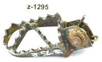 KTM 125 LC2 Bj.99 - Fußraste vorne rechts Fahrer 56550943