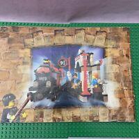 Lego Harry Potter - 4708 - Instructions Manual Only - Hogwarts Express