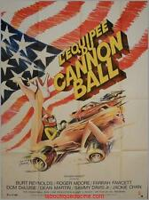 L'EQUIPEE DU CANNONBAL Affiche Cinéma / Movie Poster BURT REYNOLDS ROGER MOORE