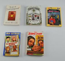 Lot Of 5 Vintage Children's Books Year Of Secret Assignments School Of Fear