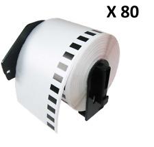80 X DK11202 62x100mm Compatible Etiquetas de dirección encaja hermano QL-570