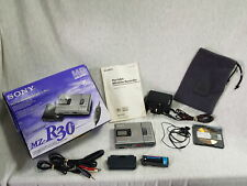 More details for sony mz-r30 boxed vintage md walkman mini disc recorder with accessories grade a