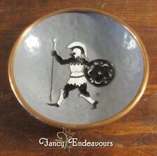 Swiss Switzerland Enamel & Copper Trojan Warrior Decorative Plate