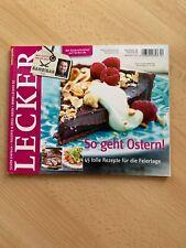 Lecker, Zeitschrift, April 2012, 04/2012, Sansibar, Rezepte für Ostern