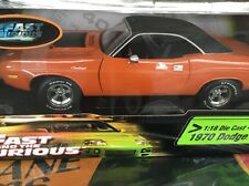 The Fast And The Furious 1970 Dodge Challenger 1/18 Diecast NIB Racing Champions