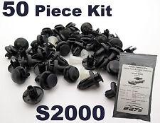 PLASTICA Tagliare Clip Kit per HONDA S2000-Set completo di PASSARUOTA & Undertray Clip