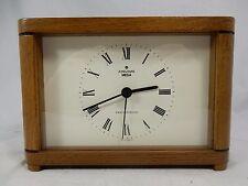 Bekannt gute Junghans MEGA  Funkuhr Echtholz  # radio controlled clock  working