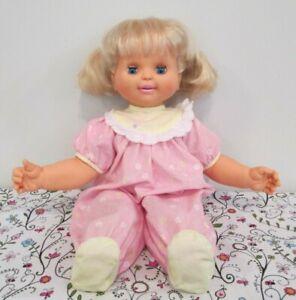 Super Fun, Working, Baby Loves to Talk, Vinyl & Cloth Baby Doll, Toy Biz, 1992