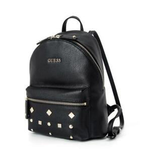 Casual Womens Pebbled Backpack One Size Bag Black Handbags Travelling Bags Size