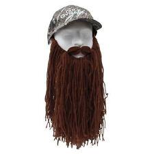 Duck Dynasty Si Camouflage Camo Baseball Hat Cap Long Brown Beard By Beard Head