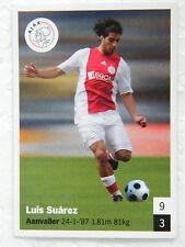 AH Dutch football card 2008 / 2009: #28 Luis Suarez - Ajax  Soccer