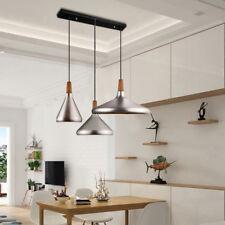 1 Set Ceiling Lights Kitchen Modern Chandelier Bedroom Wood LED Pendant Lighting