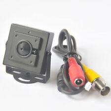 3.7mm CCTV 600TVL Color Video Camera Pinhole Hidden Lens FPV Home Security Mini