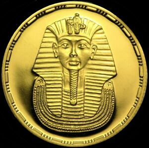 EGYPT: REPUBLIC ☆GOLD PROOF☆50 Pounds☆ AH 1414 (1993) ☆ PCGS PR69 DEEP CAMEO  ☆