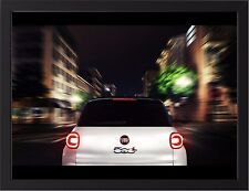 """FIAT 500L A3 FRAMED PHOTOGRAPHIC PRINT 15.7"""" x 11.8"""""""